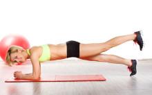 Упражнения для похудения живота и боков — правила выполнения