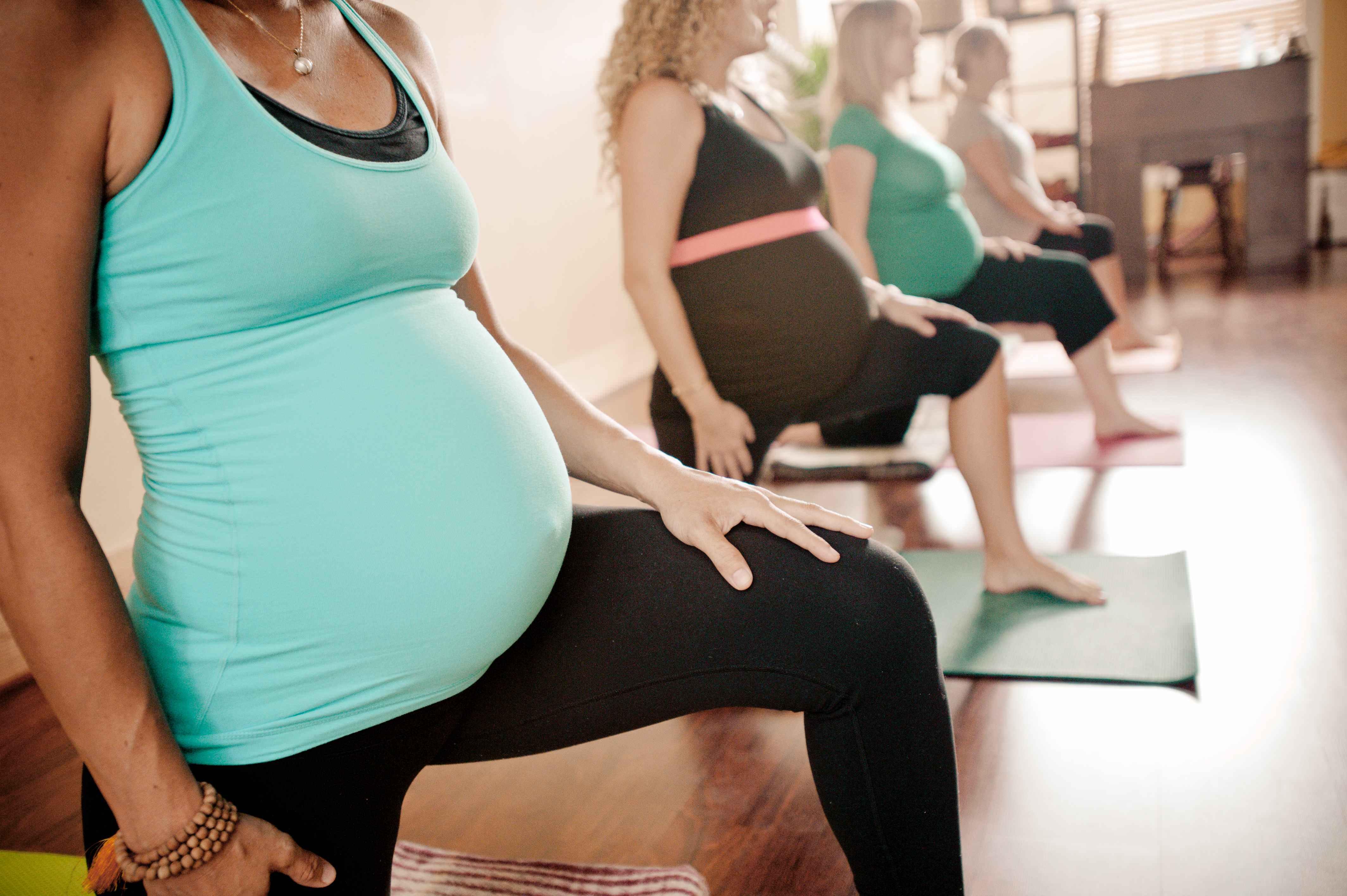 Йога для беременных по воскресеньям 79