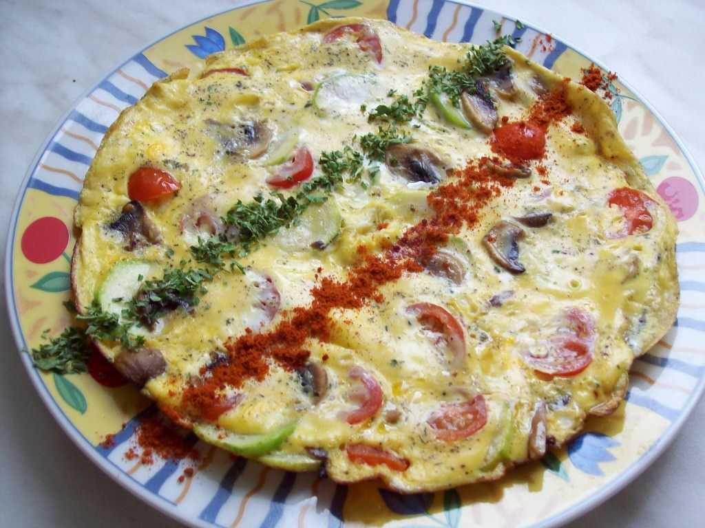 Диетический омлет на завтрак рецепты с фото
