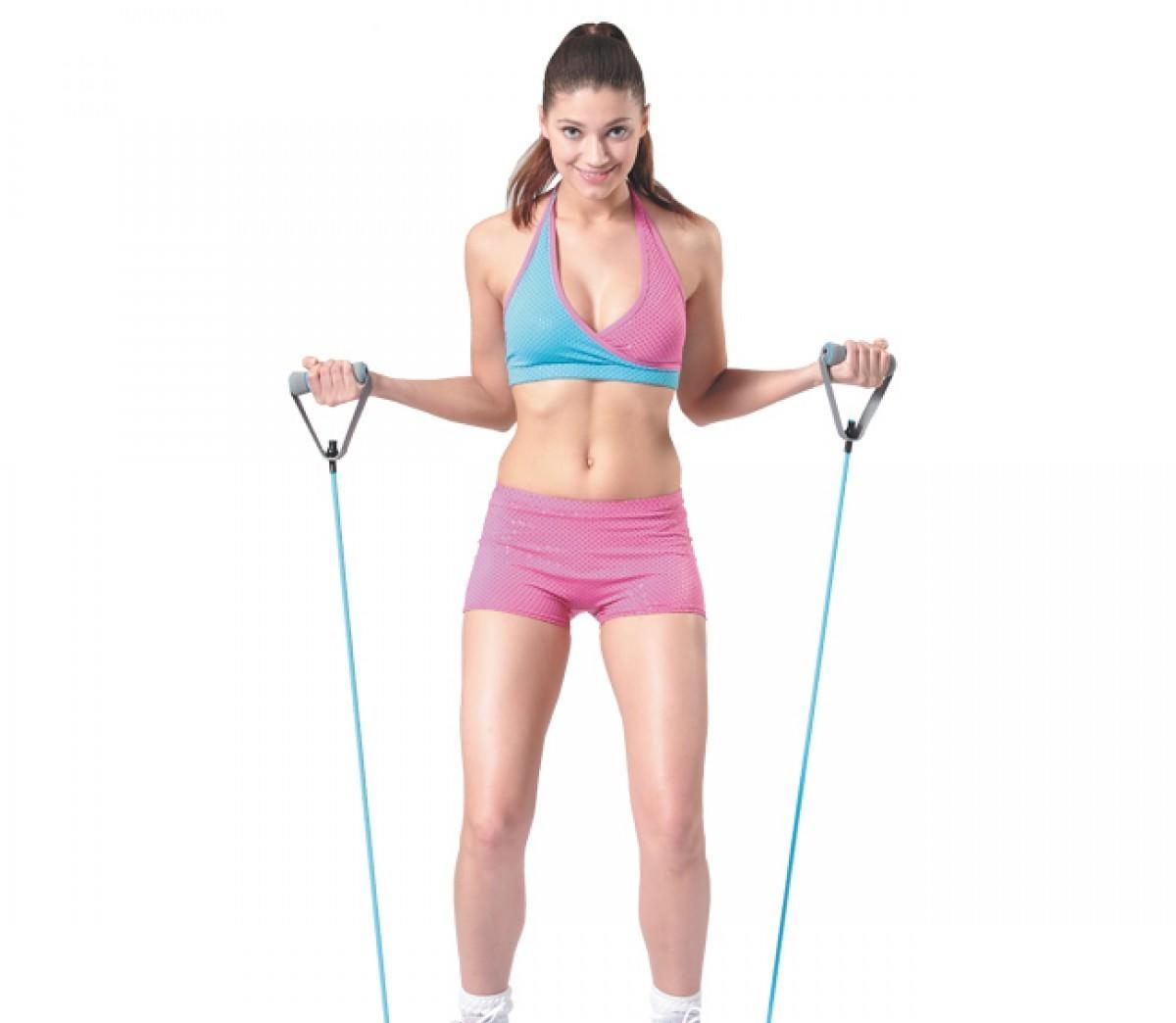 Упражнения с эспандером для женщин в домашних условиях для пресса