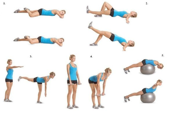 7 упражнений для всего тела