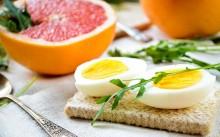 Яйца и апельсик
