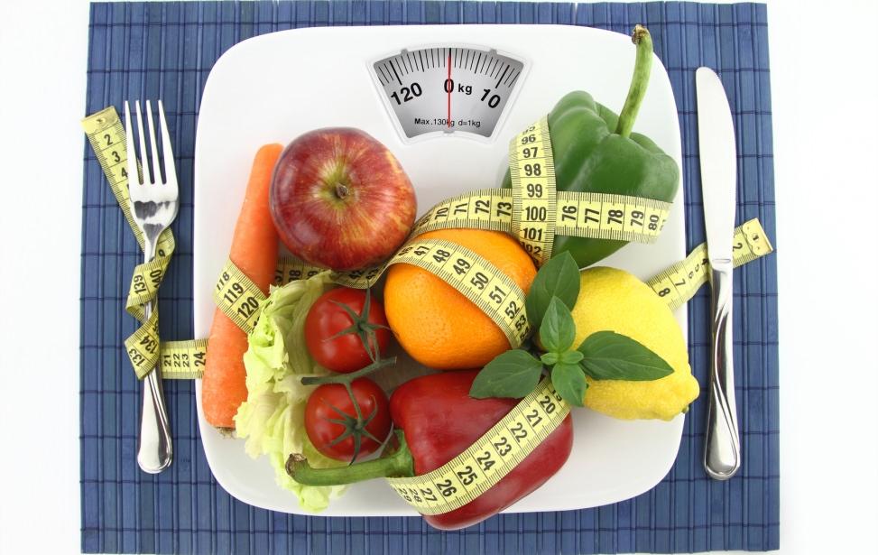 Овощи и весы