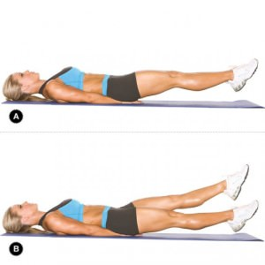 Упражнение для талии для похудения